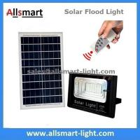 Buy cheap 25W 42LED Solar Flood Lights with Remote Solar Security Lamp for Garden Football Pitch Outdoor Basketball Court from wholesalers