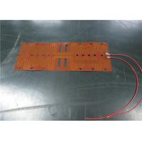 China Quick Heating Kapton Foil Heater , Foil Heating Element Simple Assembly wholesale