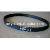 China MXL Mining and Metallurgy Rubber Toothed Industrial Timing Belts with Heat Resistant on sale
