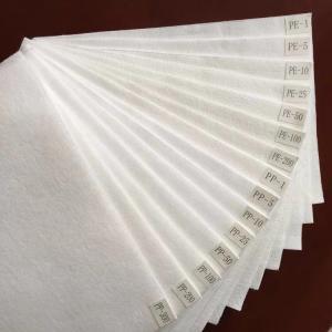 Quality Polyester 1 Micron Felt Polyproplyene Micron Felt For Liquid Filtration for sale