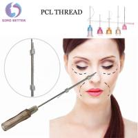 China Anti - Aging Soft Cosmetic Surgery Facelift Thread Blunt Nose Needles wholesale