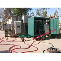 Quality Mobile trailer Transformer Oil Treatment Plant,Oil purification,degasification,dehydration for sale
