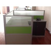 China Modular Desk Commercial Office Furniture Sets PVC Edge Sealing Scratch Resistant wholesale