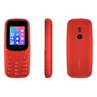 China 0.08MP Camera IPRO Mobile Phone , Bluetooth Dual Sim Cell Phone 800mAh Red Color wholesale