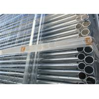 Hot Dipped Galvanized Temporary Fencing Panels 32mm tube wall thick 2.00mm