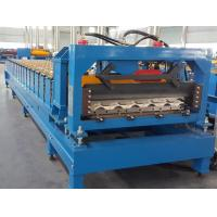 China CE Roof Panel Roll Forming Machinery 18 Stations 5 Tons De - Coiler Single Chains wholesale