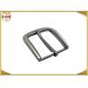 Buy cheap 35MM Pearl Nickel Brushed Custom Metal Die Casting Belt Buckle For Men's Belt from wholesalers