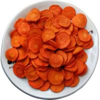 China Trustworthy Factory Supply 3mm,5mm,7mm Orange Color Air-dried Carrot In Slice wholesale