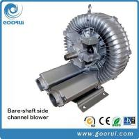 China Motorless Bare Shaft Air Blowers Drive By Belt , Low Noise Side Channel Blower wholesale