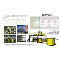 China Vinot High Speed & 2-5 Layers Air Bubble Film Making Machine Width 2500mm LDPE Material wholesale