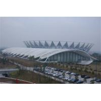 China Membrane Building Shade Tension Fabric Structures For Outdoor Stadium / Pubilc Areas wholesale
