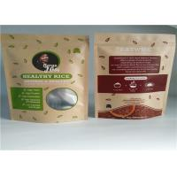 Quality Reusable Food Customized Paper Bags for sale