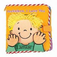 Quality SoftPlay Lamaze Peekaboo I Love You Non-Teared Baby Books, Infant Toys Early for sale