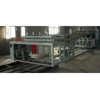 China Plastic Extrusion Machine , PVC Wave Board Double Screw Extruder on sale