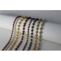 China Sparkling Stainless Steel Ball Chain Curtain Bead Curtain For Shower Room wholesale