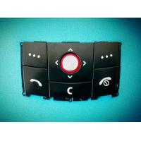 China Silicone Rubber P+R Keypad Mobile Phone Button with Smooth Appearance wholesale