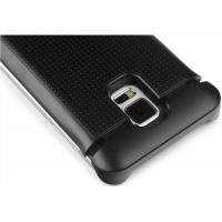 China 3800mah Samsung Galaxy S5 PU Leather Flip Battery Back Cover / Samsung Battery Pack on sale