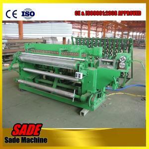 China welded wire mesh machine, stainless steel wire mesh welding machine, roller welded wire mesh making machine on sale