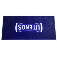 Buy cheap Long Strip Bar Counter Rubber Mats Customized Design Pattern 1cm Thickness from wholesalers