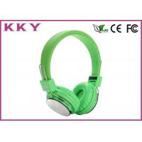 China Wireless Over Ear Headphones Travel Headphone Supports TF Card , FM Radio and 3.5mm AUX wholesale