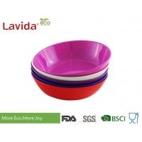 China Phthalate Free Melamine Cereal Bowls High Strength Endurable For Home / Restaurant wholesale
