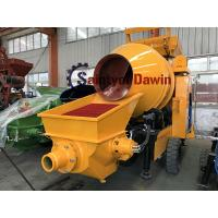 Buy cheap Diesel Power Concrete Mixer with Pump New Design in 2018 Hot in Ordering! ! ! from wholesalers