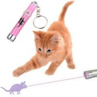 China OEM LED Pink Laser Pointer Light Pen With Bright Animation Mouse For Pet Cat wholesale