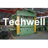 China 3 - 12mm * 2200mm Steel Coil Cut To Length Machine Line With Automatic Control System wholesale