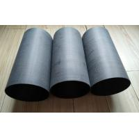 China 153mmOD*150mm ID*300 mm length milled  sanded carbon fibre tubes for motor light lamp tail pipes on sale
