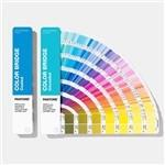 China Solid Coated / Uncoated Paper Paint Color Cards 2019 Pantone GP6102A Color Bridge Guide Set wholesale