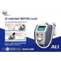 Quality 1600mj High Power Q Switched Nd Yag Laser Tattoo Removal Equipment / 1064 Nm 532nm Nd Yag Laser for sale