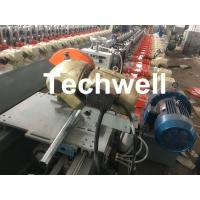 China Custom made Octagonal Aluminum Or Galvanized Steel Tubing Roll Forming Machine With PLC Frequency Control wholesale