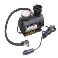 China Shock Vehicle Air Compressors Dc 12v 250psi  With Cigarette Lighter Plug wholesale