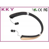China Luxury Gold Bluetooth Noise Cancelling Headphone For Apple IPhone / Smartphones wholesale