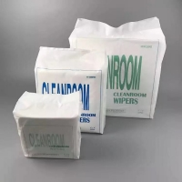 China Ultrasonic Wave Sealed Non Abrasive Class 1000 Cleanroom Wipes wholesale