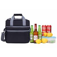 China Fashionable Insulated Beach Tote Cooler Bag / Insulated Bottle Cool Bag For Vacation wholesale