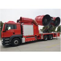 China Rear suspension 2750mm Large Smoke Exhaust Fire Truck Wheelbase 5100+1400 wholesale