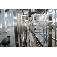 China Non - Carbonated Drink Automatic Filler Machine 5L 1000bph Stright Liner wholesale