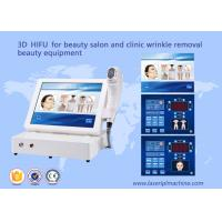 Buy cheap 3D hifu for beauty salon and clinic wrinkle removal beauty equipment from wholesalers
