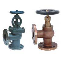 China Screw Down None Return Valve Globe Design With Angle Type DN15 ~DN200 Size wholesale