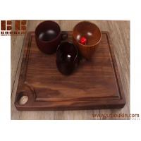 China Super KD Wooden Serving Tray Decorative Round Tray Serve for Food Coffee or Tea (25cm, Brown) wholesale