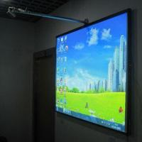 China Finger Writing Interactive Whiteboard with Aluminum Frame and Two Touch Points Optical Panel wholesale