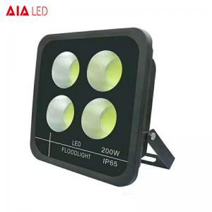 China Exterior IP65 black 200W LED Flood lighting led spotlight for yard decoration wholesale