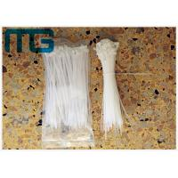 China Multi Sizes Nylon 66 UV Resistant Cable Ties , Colored Plastic Ties For Cables wholesale