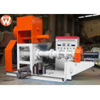 China 300KG/H Floating Fish Feed Extruder Machine Main 37kw Low Power Consumption wholesale