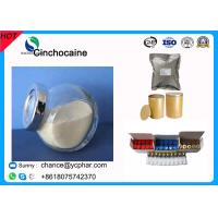 China Local Anesthetic Drugs 85-79-0 Cinchocaine Raw Powder Dibucaine Hydrochloride Local Pain Release Powder 61-12-1 wholesale