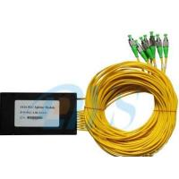 China 1x16 PLC Optical Fiber Splitter Low Insertion Loss With 1260nm - 1650nm Wavelength wholesale