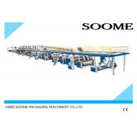 China Fully automatic corrugated carton box 3 ply production line making machine 1800 mm wholesale