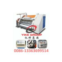Single Faced Corrugated Carton Machine 1400-1800mm Width Hard Chrome Material