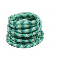China 100% Polyester Elastic Cord String Colorful Braided Rope Logo Printed wholesale